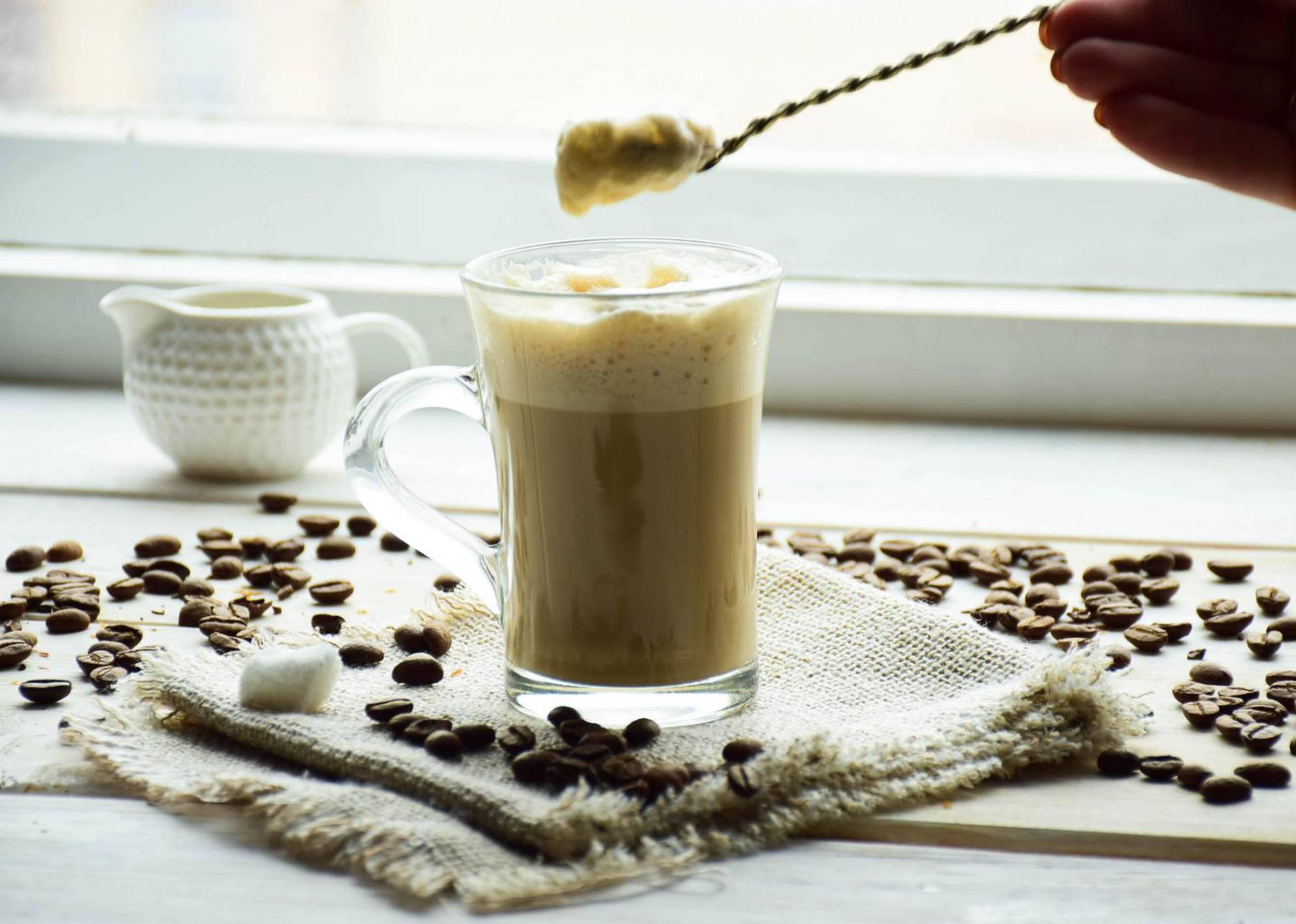 Рецепт раф-кофе в домашних условиях