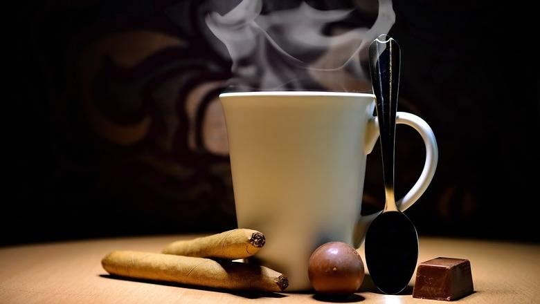 Кофе и сигареты: влияние на организм, вред и польза