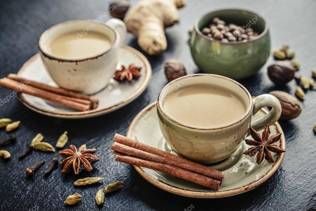 Классический рецепт масала чая