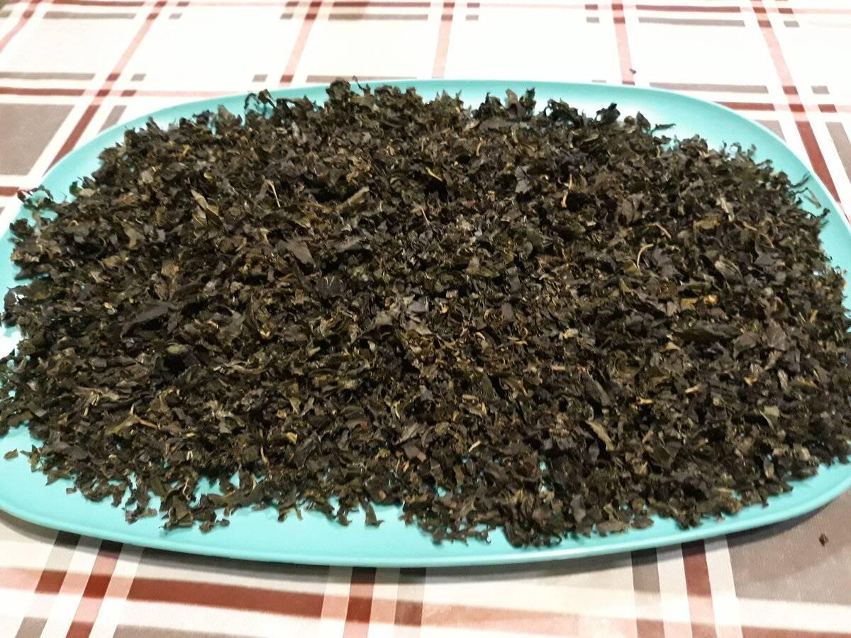 Ферментированный чай из дачных трав