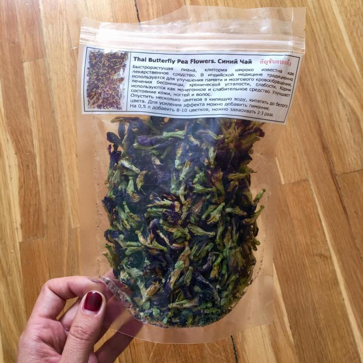 Синий чай из тайланда – какой он на самом деле?