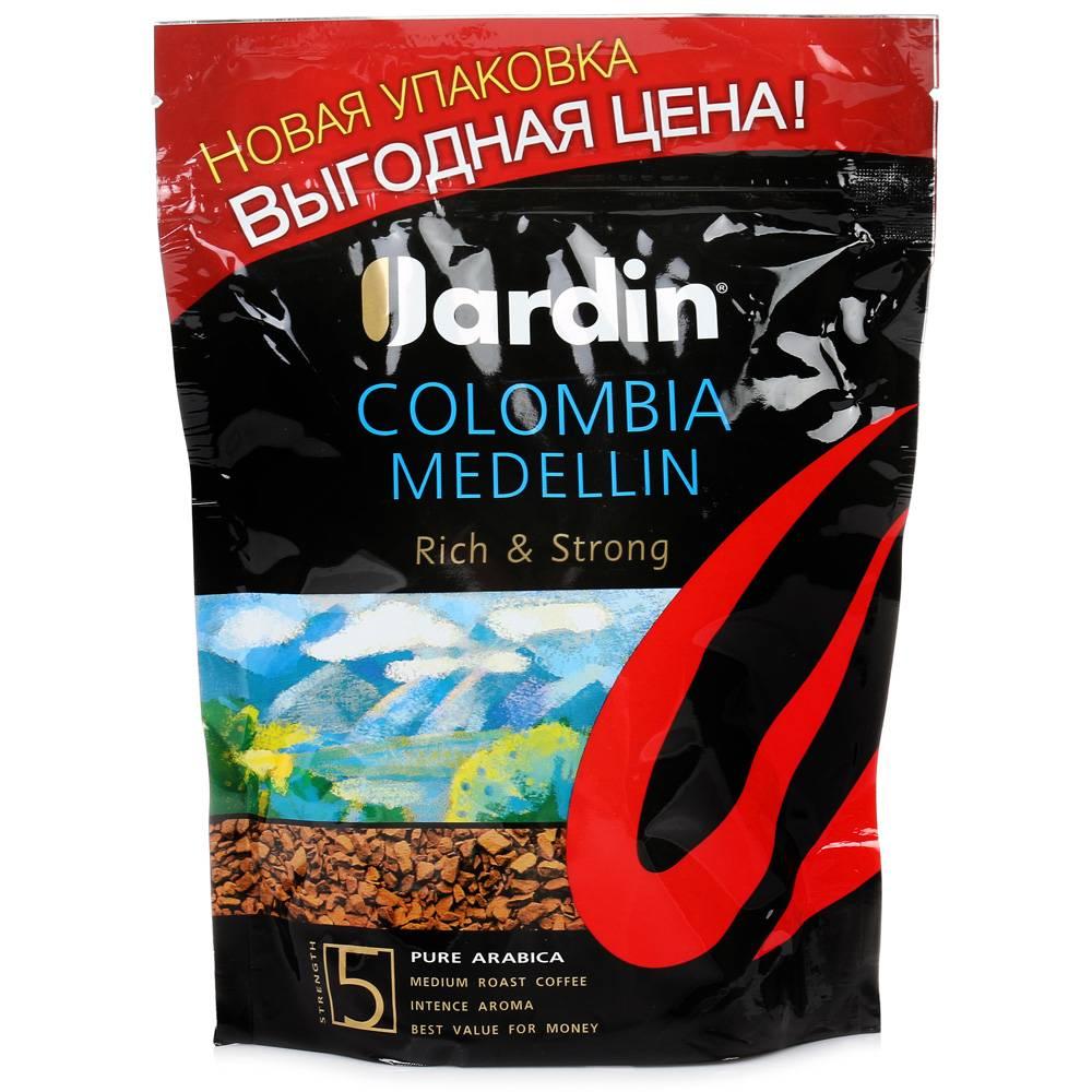 Кофе жардин колумбия меделлин: отзывы и описание