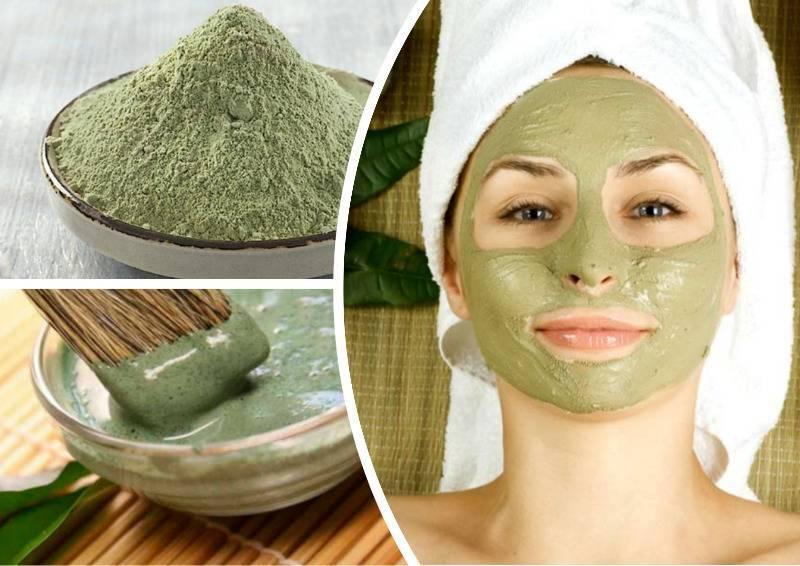 Зеленый чай — основа омолаживающих масок для лица