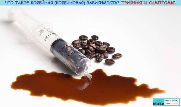 Кофеиновая зависимость: симптомы отмены кофеина и как с ними справиться (видео)