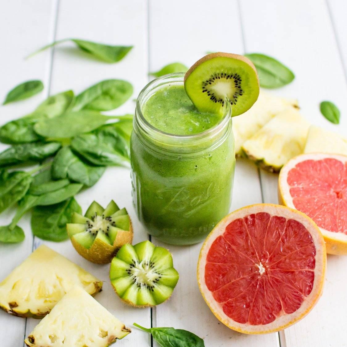 Смузи с грейпфрутом – рецепты напитка стройности