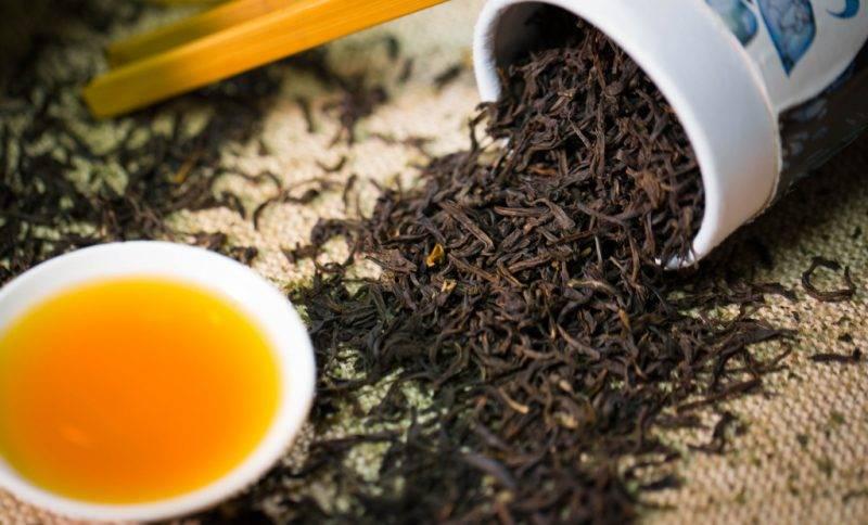 Чай ассам: черный индийский (классический гранулированный)