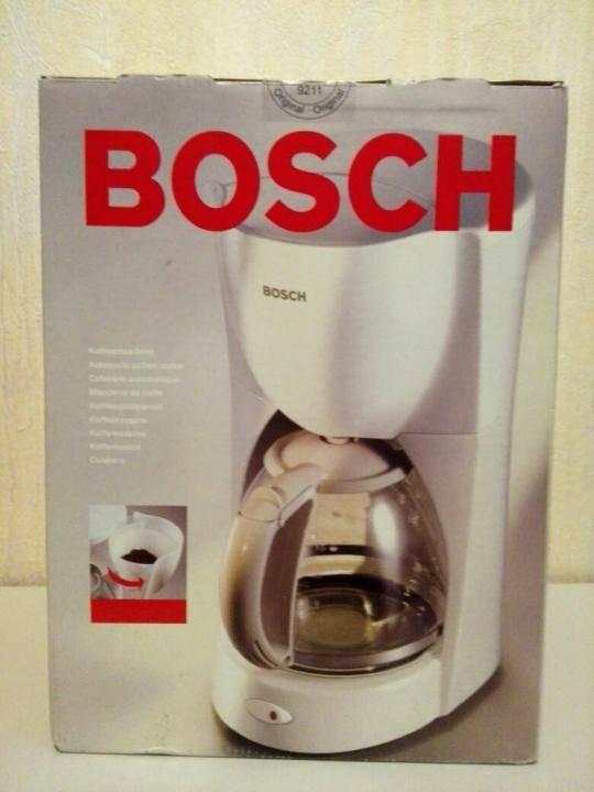 Кофеварка bosch tka 3a013