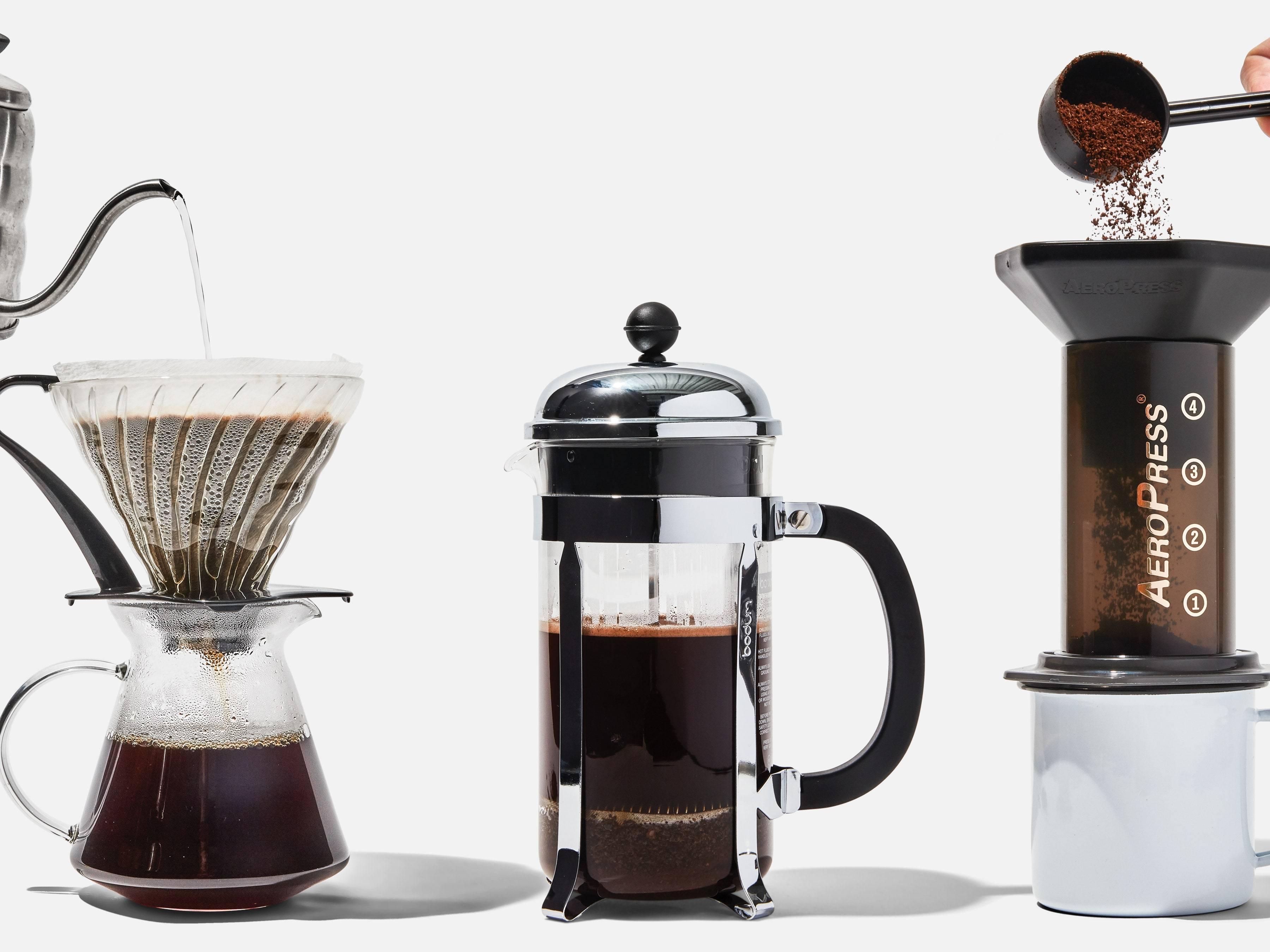 Френч пресс для кофе и чая, рейтинг лучших моделей, их отличия