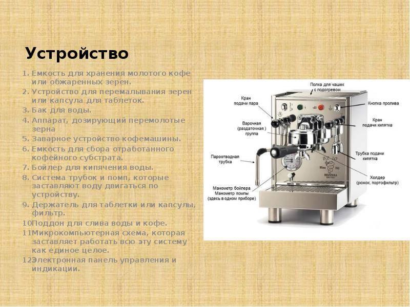 По какому принципу работает гейзерная кофеварка