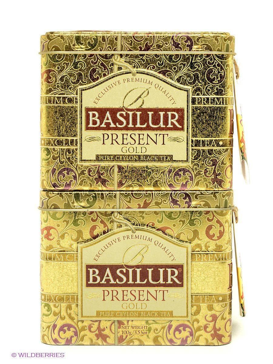 Чай «базилур» – элитная продукция в сувенирной упаковке