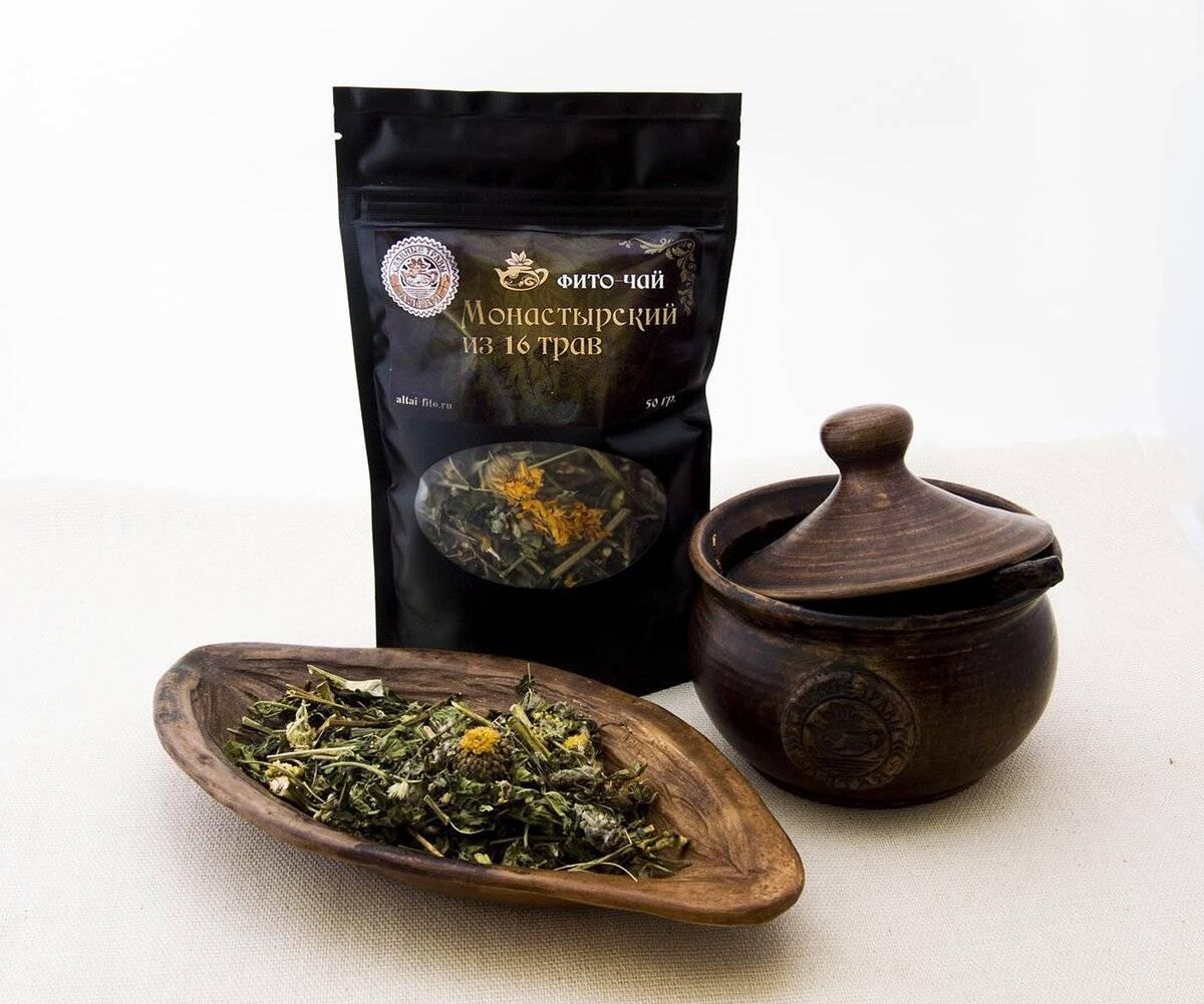 Монастырский чай от остеохондроза и его состав
