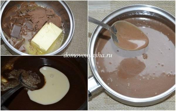 Шоколадная колбаса из печенья со сгущенкой