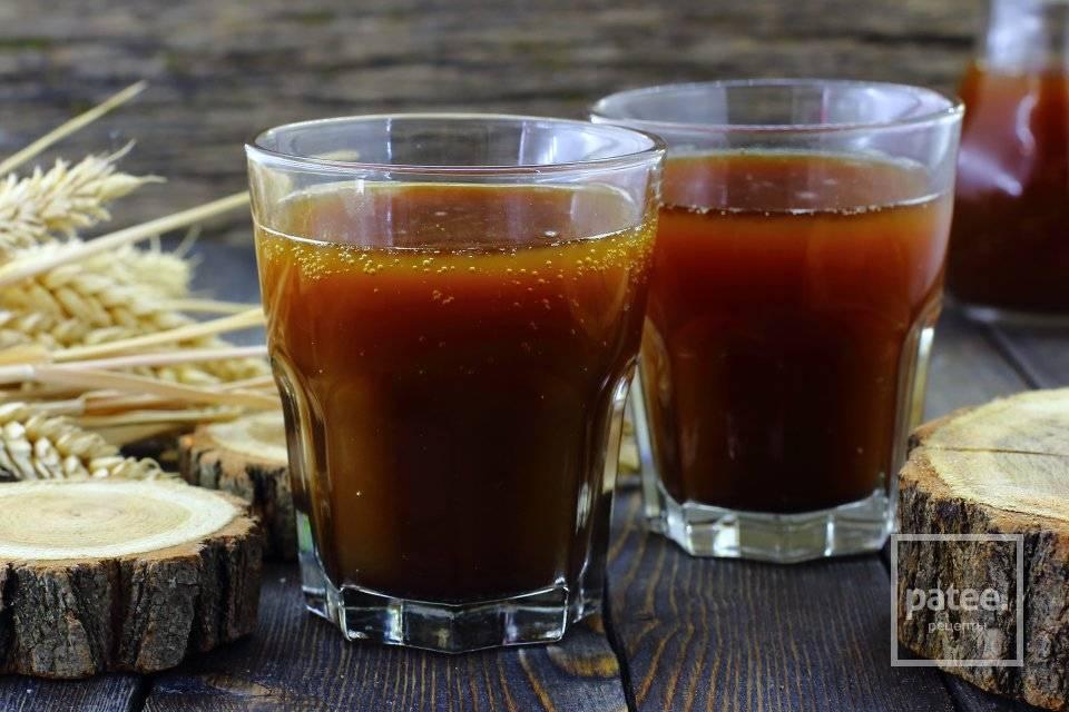 Квас из солода в домашних условиях (ржаного ферментированного) рецепт приготовления