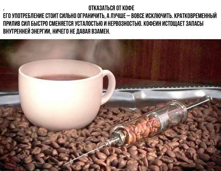 Симптомы и первая помощь при передозировке кофеином
