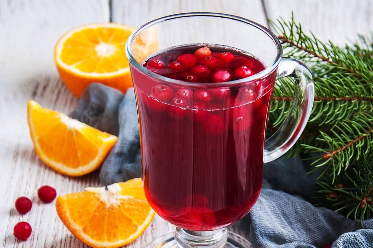 Чай с клюквой — приятная кислинка для здоровья!