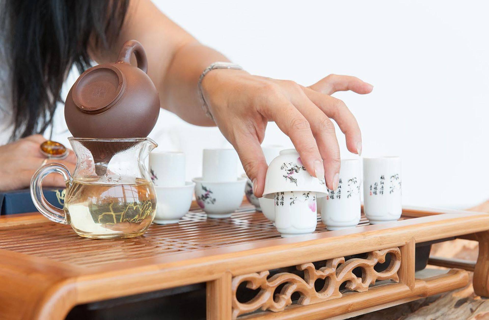 Чайная церемония в китае, этапы китайских чайных церемоний