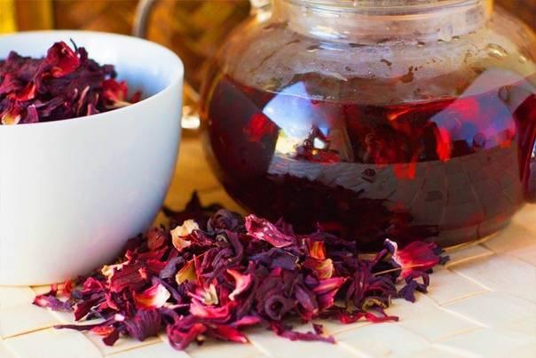 Чай из цветков граната: польза, вред, как заваривать