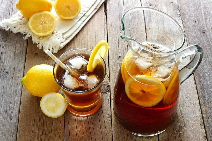 Холодный чай — глоток свежести в жаркий полдень