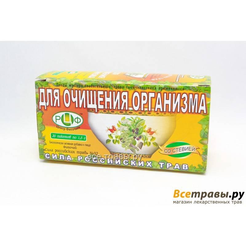Травы для очищения организма и похудения в домашних условиях