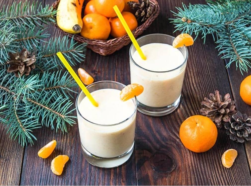Рецепты мандаринового смузи