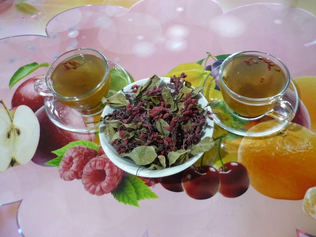 Чай с барбарисом полезные свойства как заварить - здоровье и долголетие