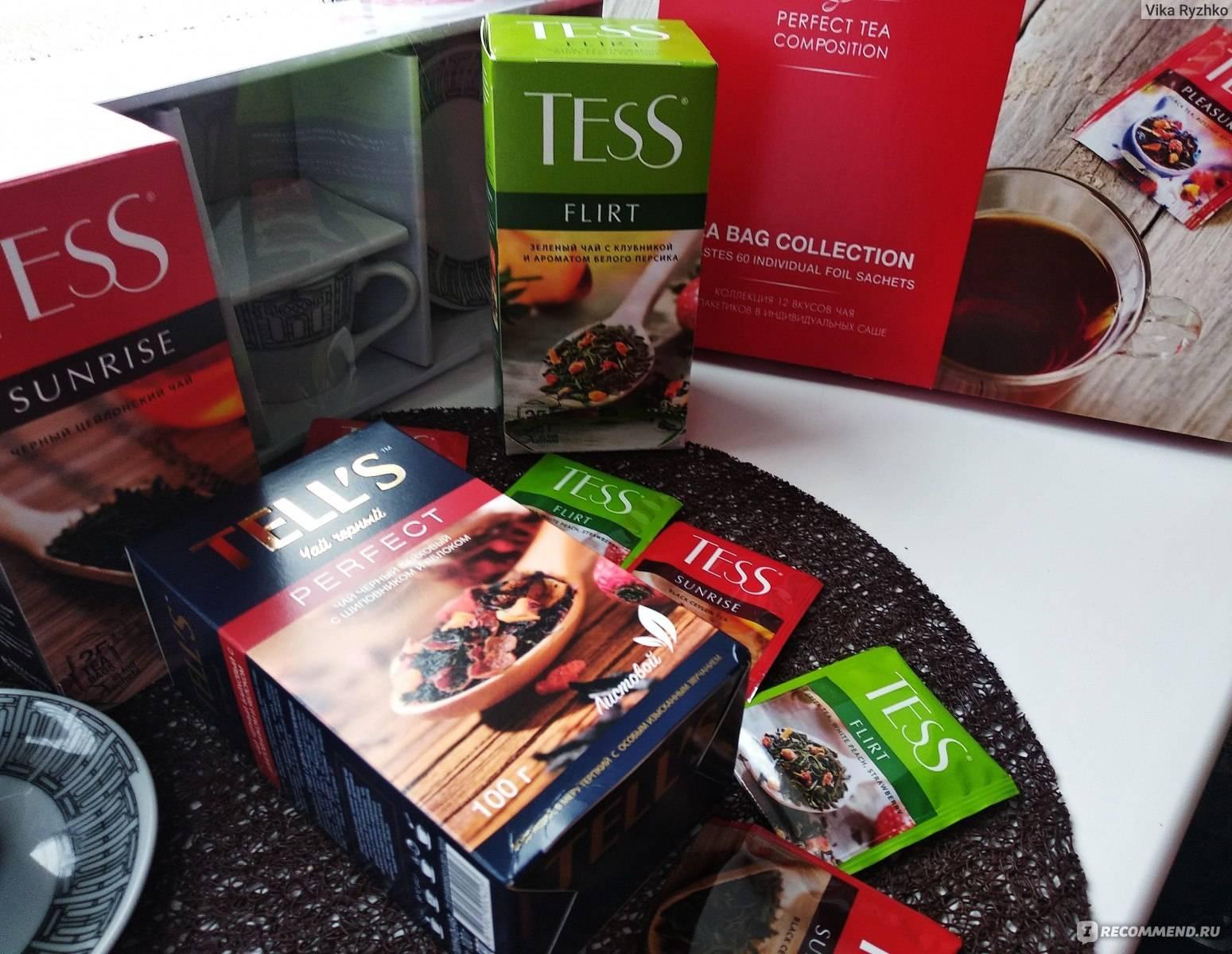 Чай tess (тесс) - особенности вкуса, польза и вред, отзывы
