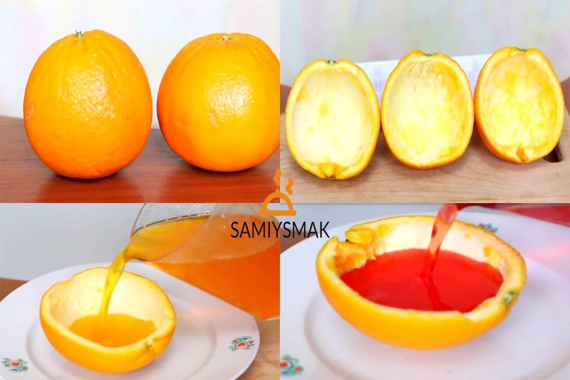 Апельсиновый морс. Рецепт с фото
